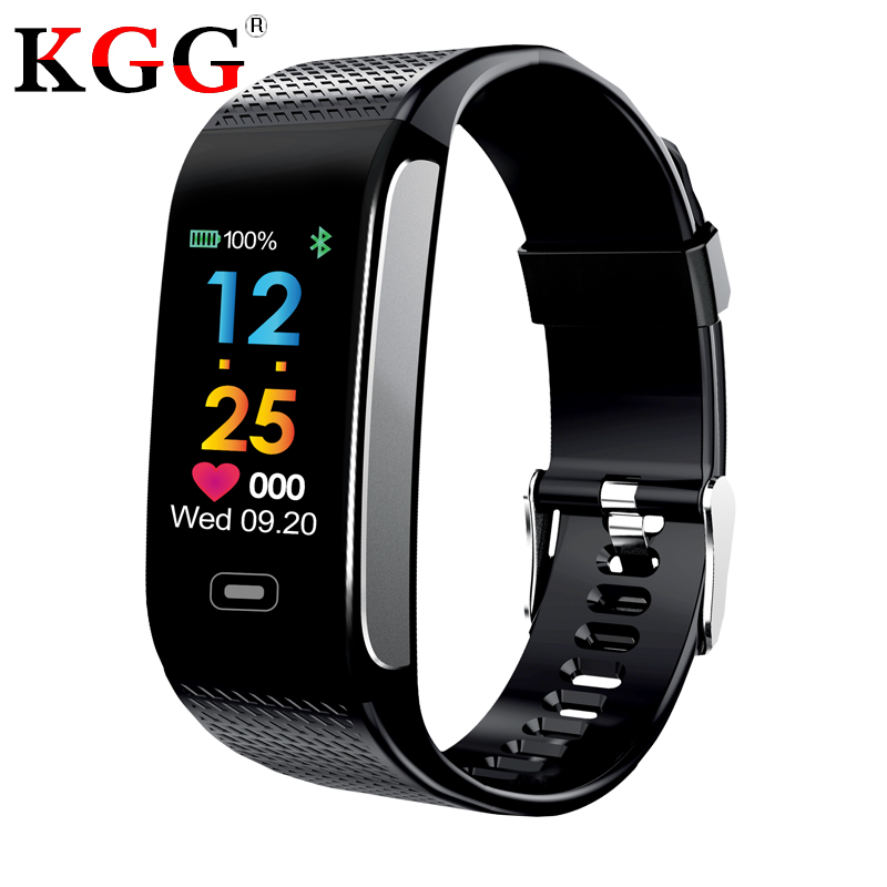 CK18S Smart Band Fitness Bracelet Tracker Pedometer Wristband Blood Pressure Heart Rate Wrist Watch Android& IOS PK CK11S