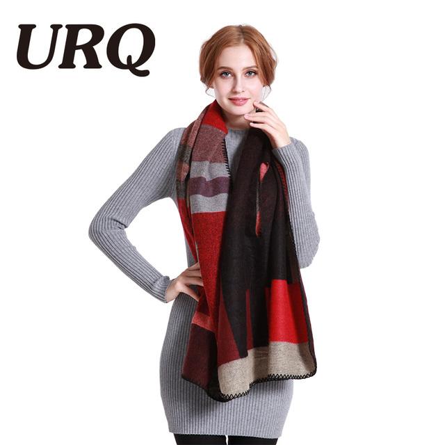 Women's Winter Poncho Vintage Blanket warm scarf Women's Lady Knit Shawl Cape Cashmere Scarf Poncho 2017 HOT SALE