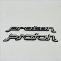 Proton wira saga satria magma 엠블럼 뒷 트렁크 뚜껑 문자 배지 로고 자동차 스타일링