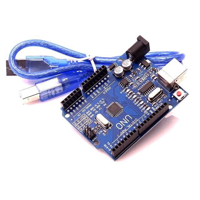 UNO R3 MEGA328P CH340 CH340G for Arduino UNO R3 + USB CABLE