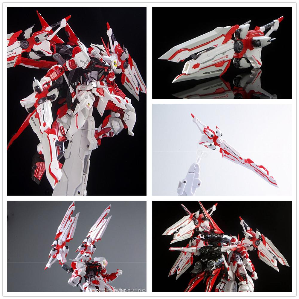 Thewind Caletvwlch Sword / Backpack Finished Model For Bandai MB MG 1/100 Gundam Astray Red Frame Red Dragon DF006