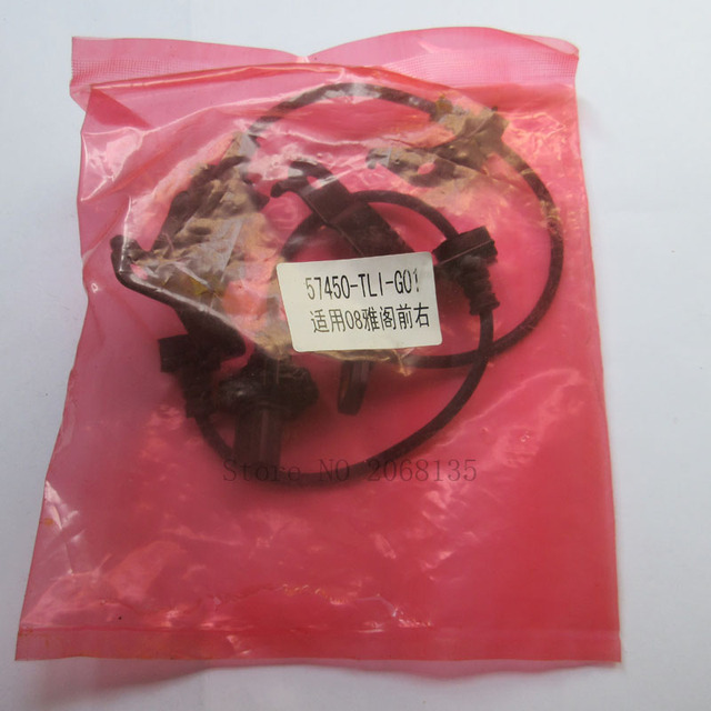 Brand NEW 57450-TL1-G01 Front Right ABS Wheel Speed Sensor 57450-TL1-G01 For Honda Accord 2008