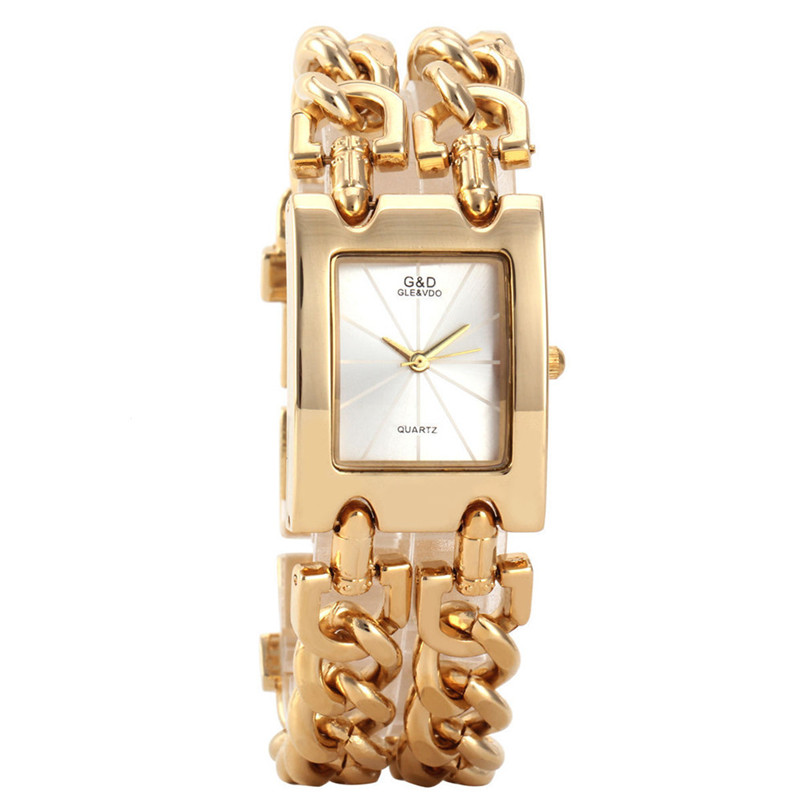 TOP brand Luxury Gold Watches Women Wristwatches Quartz Watch Luxury Gold Watch Dress Relojes Ladies Gifts