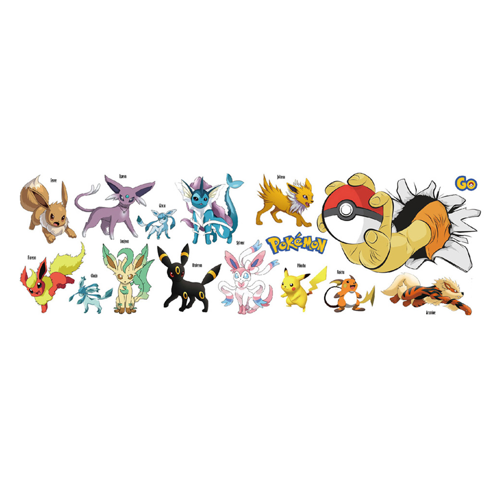 online buy wholesale pokemon wall sticker from china online get cheap large wall decal aliexpress com