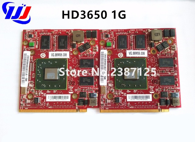 For A T I Radeon HD 3650 HD3650 1GB Graphic Video Card VGA Board for A c e r As p i r e 5520G 5720G 5920G 7520G 7720G Case