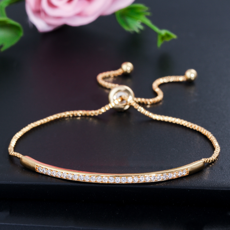 HTB1lSvVX.zrK1RjSspmq6AOdFXaF - CWWZircons Adjustable Bracelet Bangle for Women Captivate Bar Slider Brilliant CZ Rose Gold Color Jewelry Pulseira Feminia CB089