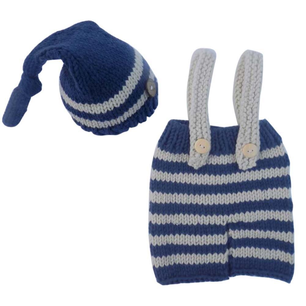 ∞Recién Nacido fotografía prop hecho a mano bebé rayas crochet ...