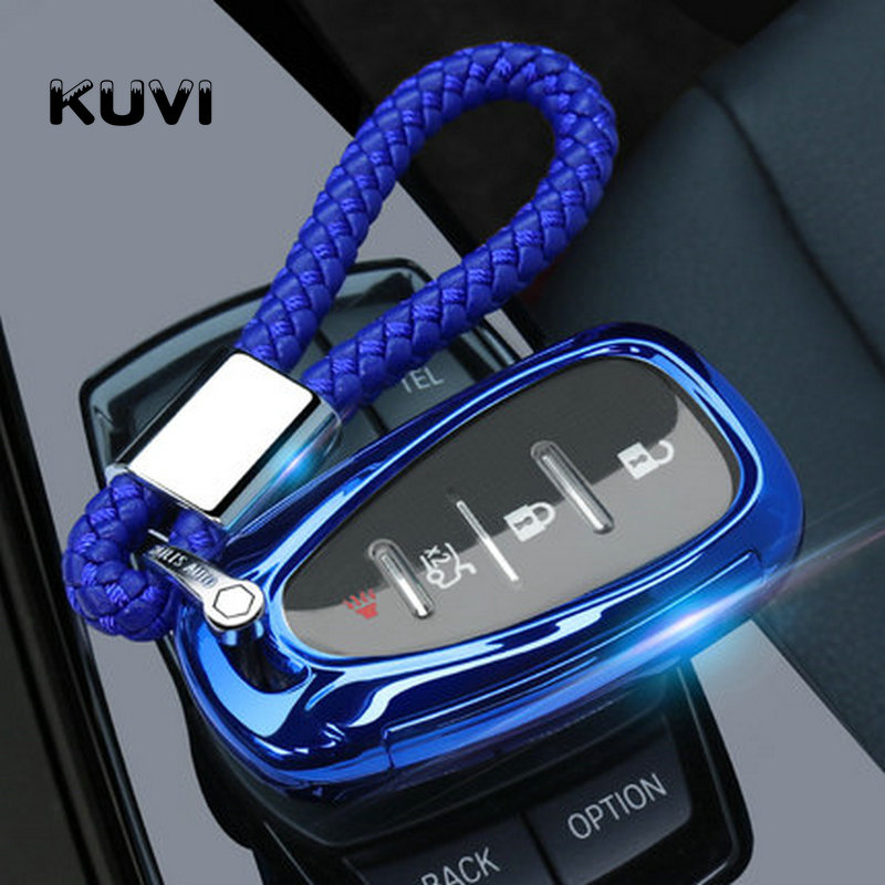 For chevrolet for cruze spark camaro Volt Bolt Trax Malibu 2016 2017 2018 TPU Car Key Covers Case Fob Shell styling Accessorie|Key Case for Car| |  - title=