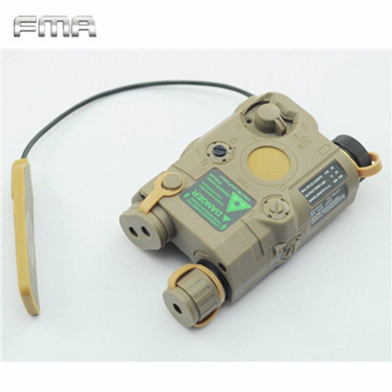 Original FMA Tactical Military Airsoft AN / PEQ-15 Batteri Box Laser - Jakt - Foto 3