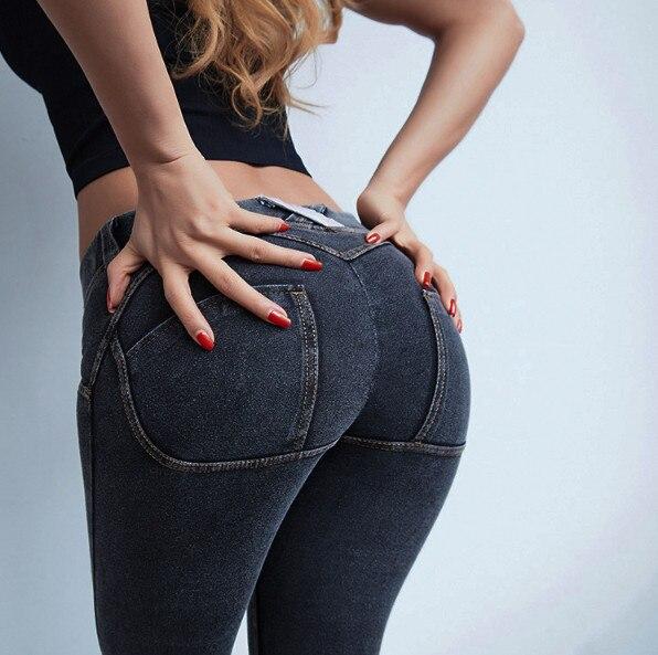 Sexy   Jeans   High Waist Stretchy Plus Size Hip Push Up Butt Lift Pants Colombian Pants Vestido Denim   Jeans   ouc262a