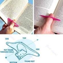 Многофункциональный держатель страниц книги для большого пальца Удобная Закладка
