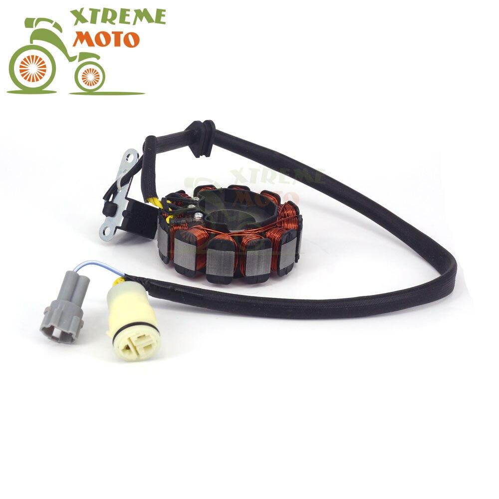 Bobine de magnéto de Stator de moto 12 V 12 bobines pour moteur ZS177MM ZONGSHEN NC250 KAYO T6 esb J5 RX3 ZS250GY-3 4 pièces de soupapes