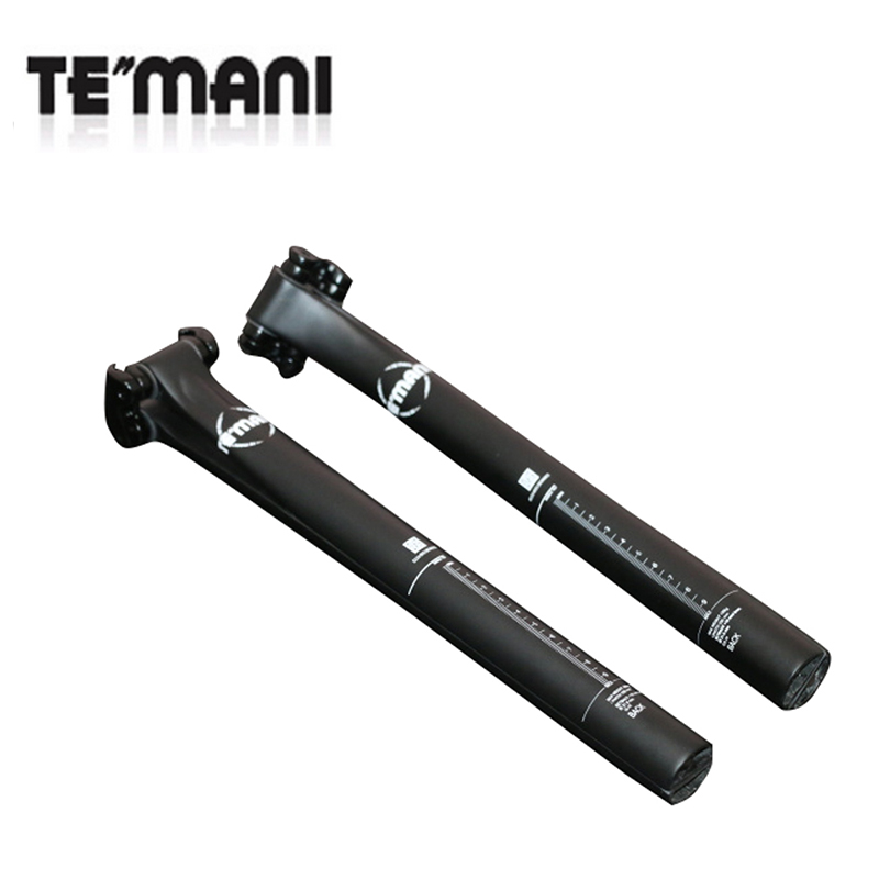 T800 Carbon Fiber Bicycle Seatpost MTB Road Bike UD Seat Post Tube 31.6/30.8/27.2*330mm Bicycle Spare Parts Bicycle Accessories bikein full ud carbon fibre ultralight road bike seatpost 27 2 30 8 31 6mm mountain bicycle seat tube 5 20 degree mtb parts 200g