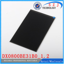 """Original 7.85"""" inch LCD Display Screen Panel Repair Parts Replacement DX0800BE31B0_1.2 LCD screen Free shipping"""