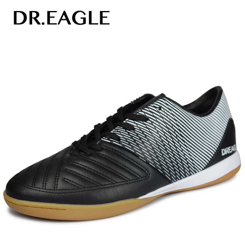 DR.EAGLE Men indoor Professional Soccer Cleats Teenager Training futzalki for football Shoes sneakers boots Crampons De Foot(China)
