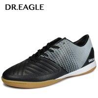 DR.EAGLE Men indoor Professional Soccer Cleats Teenager Training futzalki for football Shoes sneakers boots Crampons De Foot