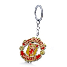 Manchester F.C Football Club Soccer Team Logo Metal Pendant Keychain For Soccer Fans цена в Москве и Питере