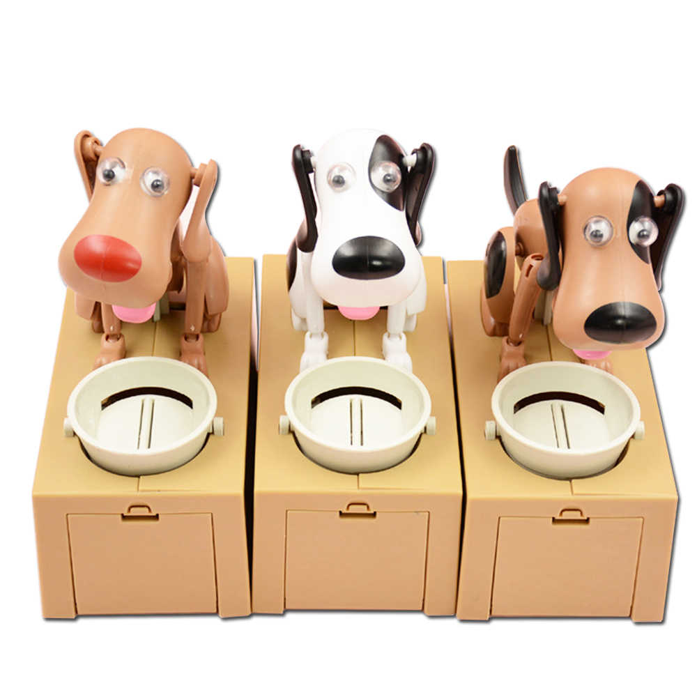 Cute Little Dog Piggy Bank Save Money Pot Of Money Savings Coin Box Can Creative Gift Kids Birthday Gifts Home Decoration Boxes