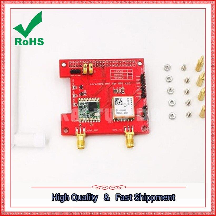 Carte de module sans fil GPS HAT 433/868/915 MHz 433 mhz/868 mhz/915 mhz 433 M/868 M/915 M