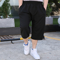 New Casual Hip Hop men male Joggers Clothing Exercise Shorts Men Solid Summer Baggy Loose Calf Trousers Plus Size XXXL 5XL 6XL