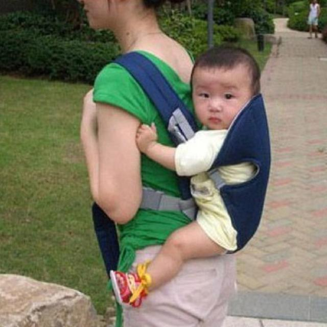 New Infant Newborn Adjustable Breathable Baby Carrier Sling Rider Wrap Backpack