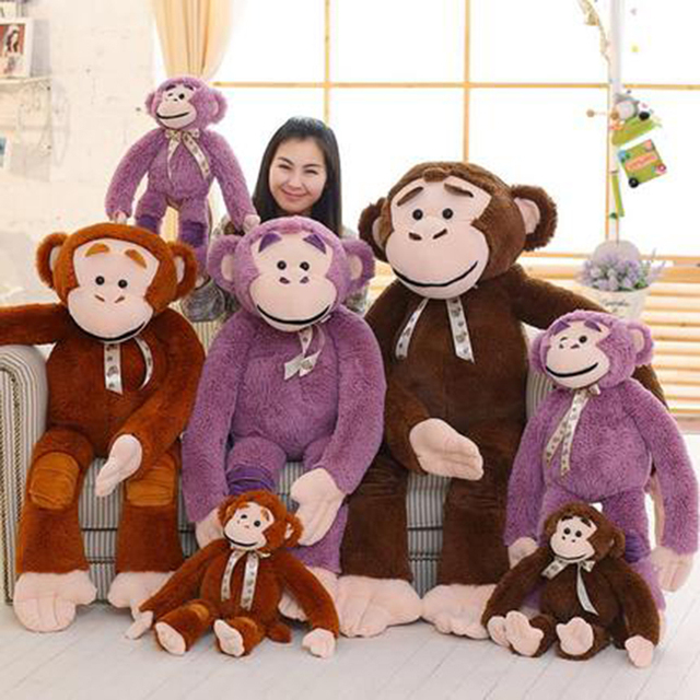 Giant Monkey Stuffed Animal Girls Gifts Birthday Pluche Stuffe