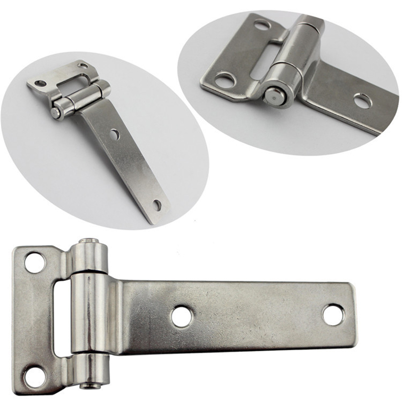 Image 4 - 135*58mm Durable Stainless Steel T Type Container Hinge Heavy Truck Vehicle Hinges Drop Shipping-in Marine Hardware from Automobiles & Motorcycles
