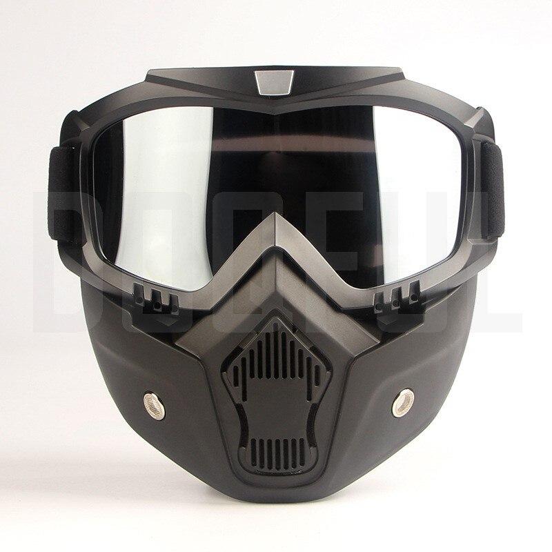 50 шт./лот защитные очки, маски, съемные ветрозащитные, пыленепроницаемые, защита от УФ лучей, велосипедные, мотоциклетные очки, маска для лиц... - 3