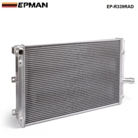 Racing For VW Golf Gti MK5 MT 06 10 Manual 2 Row Full Alloy Racing Cooling Radiator EP R339RAD