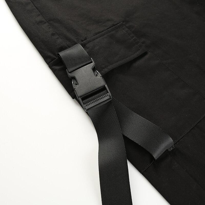 ... 11Sweetown Plus Size Harajuku Cargo Pants Women Black High Waist Pantalon  Bomber Femme Street Style Womens ... ee5a1b2e861c