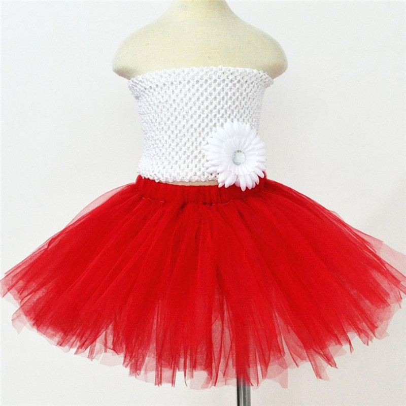 54d2cc22da New Children Kids Girls Tutu Skirt Baby Tutus Cute Fluffy Tulle Skirt 9  Color Pettiskirt Princess Girls Mini Ballet Skirts 1-10Y