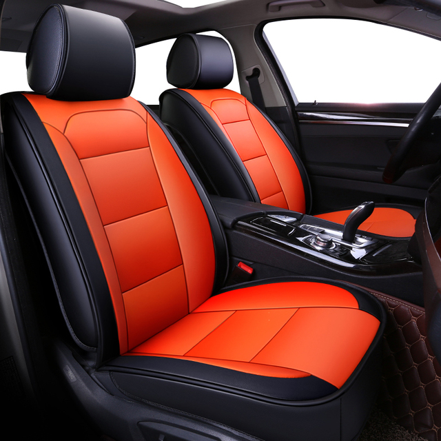 2018 New Universal Leather Car Seat Cushions For Honda Accord 2003 2007 Civic Crv Jazz Fit City Auto Covers