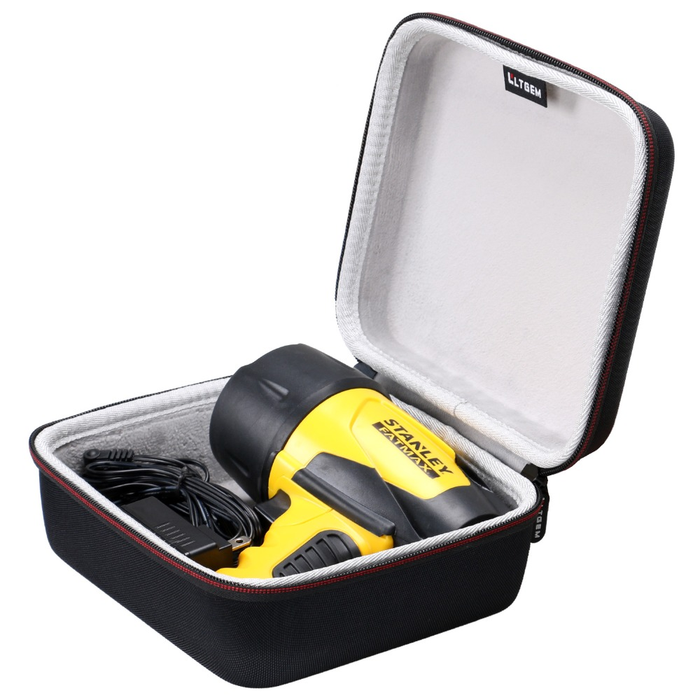 LTGEM Case Compatible For STANLEY FATMAX FL5W10 Waterproof LED Rechargeable Spotlight - EVA Hard Case Travel Protective Carrying