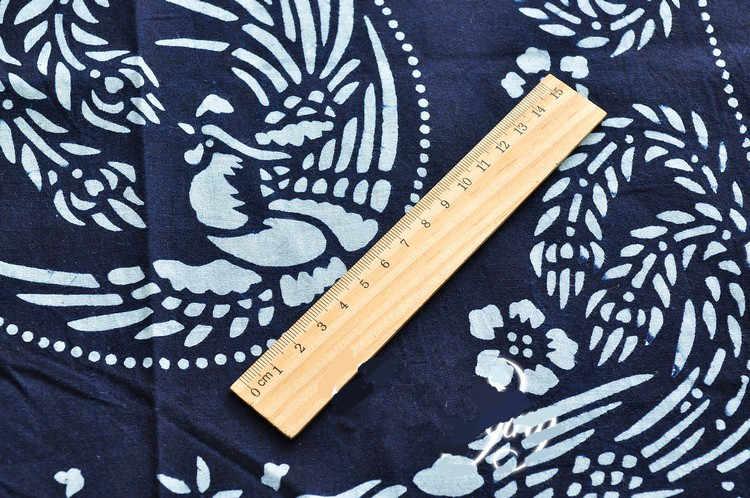 """Китайская ткань синий белый цветы Печать Салфетка бязь сшивание лоскутов по принципу """"сделай сам"""" Подушка пылезащитный платок ткань 2 шт./партия"""