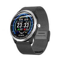 N58 2019 nouvelle bande intelligente ECG PPG montre intelligente hommes IP67 étanche Sport montre moniteur de fréquence cardiaque pression artérielle fitness bracelet