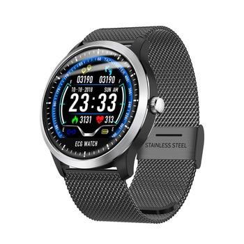 N58 2019 New smart band ECG PPG Smart Watch Men IP67 Waterproof Sport Watch Heart Rate Monitor Blood Pressure fitness bracelet
