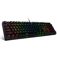Механическая игровая клавиатура Redragon K582 SURARA с RGB светодиодный Ной подсветкой, с 104 клавишами, линейная и тихая, красные переключатели, быстрое включение