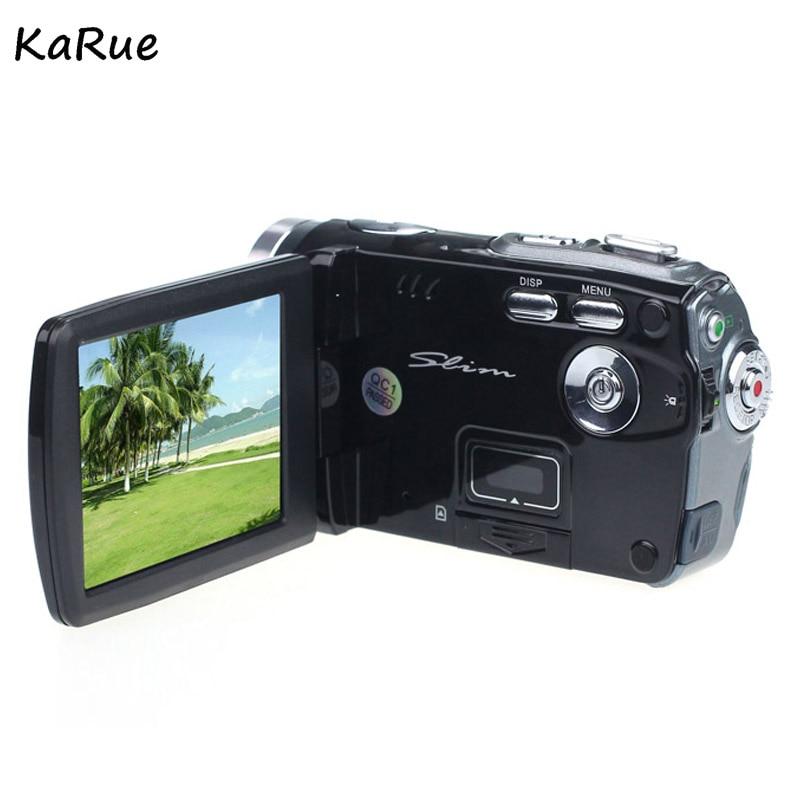 KaRue Travel Portable 720P digital home camcorder 3 Inch TFT LCD digital video camera 16x Digital Zoom DV Camera Anti-Shake portable infrared video camera 1080p hd 16x zoom 3 0 tft lcd digital video camcorder camera dv dvr support for night shooting