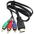 1M HDMI Male To 3 RCA AV Video Component Convert Cable Hot Sale