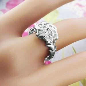 Image 5 - 925 סטרלינג כסף הלורד של טבעות Nenya גלדריאל טבעת של מים LOTR Elf טבעות נהדר טבעות ההוביט תכשיטי נשים אוהד מתנה