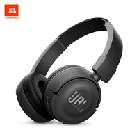 JBL T450BT Wireless Bluetooth Headphones Flat foldable On Ear Headset with Mic Noise Canceling Call & Music Controls On Ear Cup