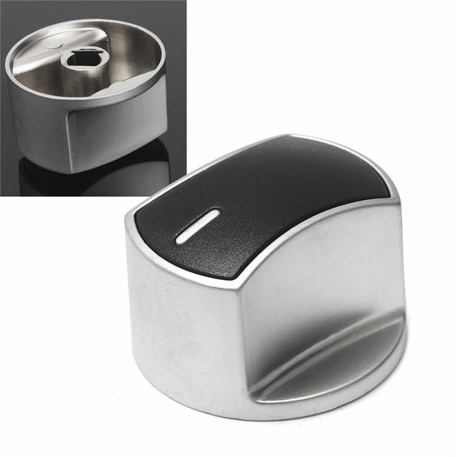 stove knobs. Metal Silver Universal Gas Stove Knobs Cooker Oven Hob Kitchen Switch Control Newest 168 Button 3