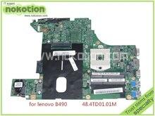 laptop motherboard for lenovo B490 LA48 MB 11264-1M 48.4TD01.01M HM77 GMA HD4000 DDR3
