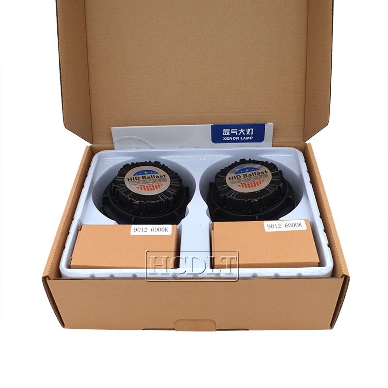 HCDLT Car Headlight Xenon 9012 HIR2 HID Kit 35W 9012 6000K HiLo Bixenon No Error Canbus Car Light Bulb Kit For IX35 2014-2016 (1)