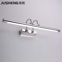 ECOBRT 5890 Stylish Items Stainless Steel 7W Wall Lamps Bathroom Sconces Mirror Light 45cm Long Cool