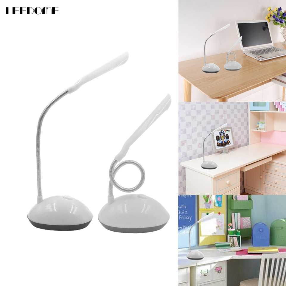 Dropship Portable LED Desk Lamp Flicker-Free 4 LED High Brightness Eye-Protection Table Light AAA Battery Operated Table Lamp