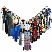 Kingdom Hearts ROXAS Riku True Sora Kairi Group of Characters Clothing Anime Clothes Cosplay Costume,Customized Accepted