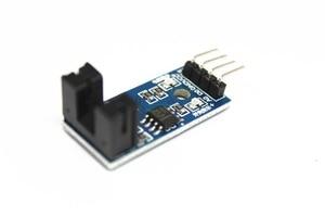 Image 1 - Envío Gratis 100 Uds infrarrojo ir Módulo Sensor de velocidad/Motor Módulo de prueba/ranura Tipo optoacoplador módulo 4 pin LM393