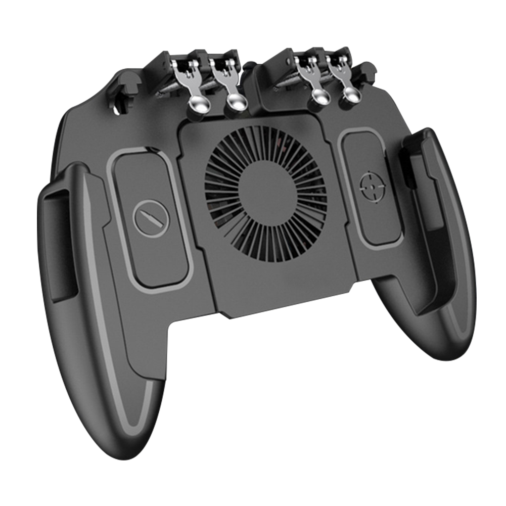 For Phones Heat Dissipation Six Finger Portable Gaming Controller Accessories Wear Resistant Turnover USB Gamepad Durable