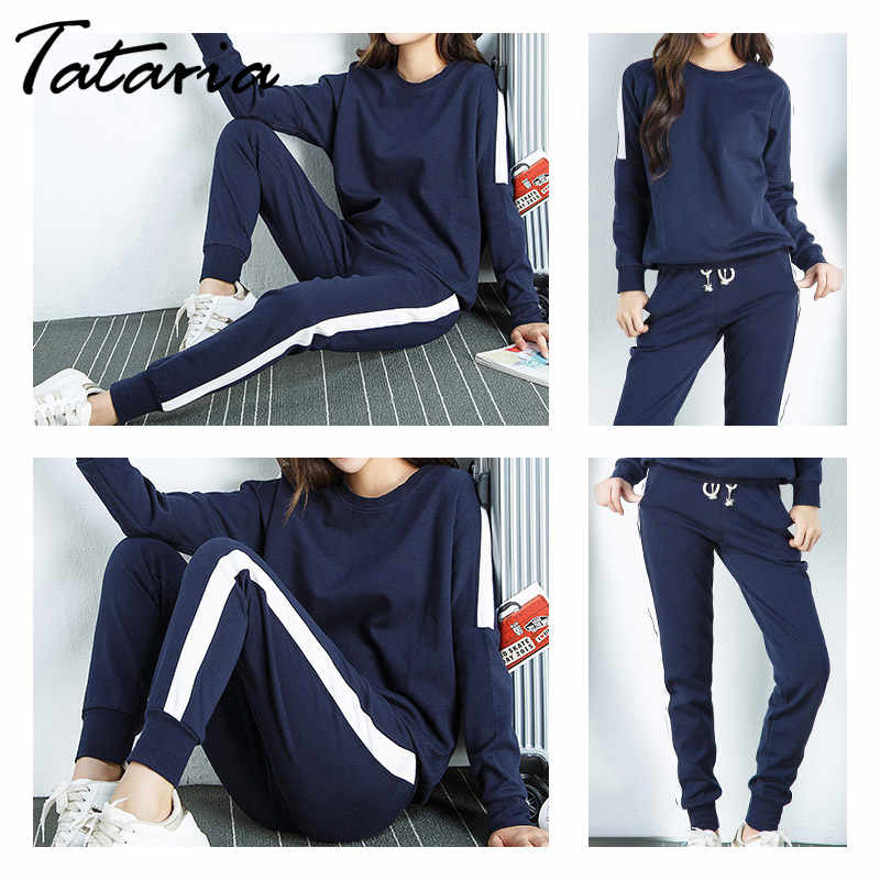 cheapest sports shoes top fashion Hoodie Sweatpants Set Women's Cotton Tracksuits Women Casual Pink Outfit  Sweatsuits for Women Pants and Top Two Piece Set
